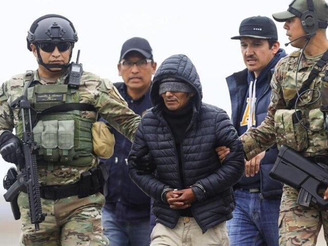 Dictan prisión preventiva contra terrorista conocido como 'Julio Chapo'