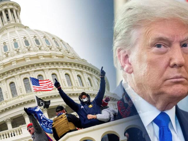 """Donald Trump fue absuelto en su segundo """"Impeachment"""""""