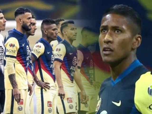 Pedro Aquino fue titular en triunfo del club América