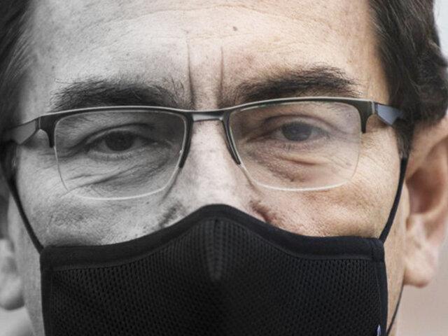 Fiscal de la Nación abrió investigación a Martín Vizcarra por vacunas de cortesía