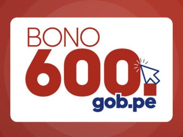 Bono 600: segundo grupo de beneficiarios puede cobrar desde HOY subsidio