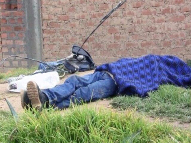 Lambayeque: obrero y su ayudante mueren electrocutados durante trabajos de construcción