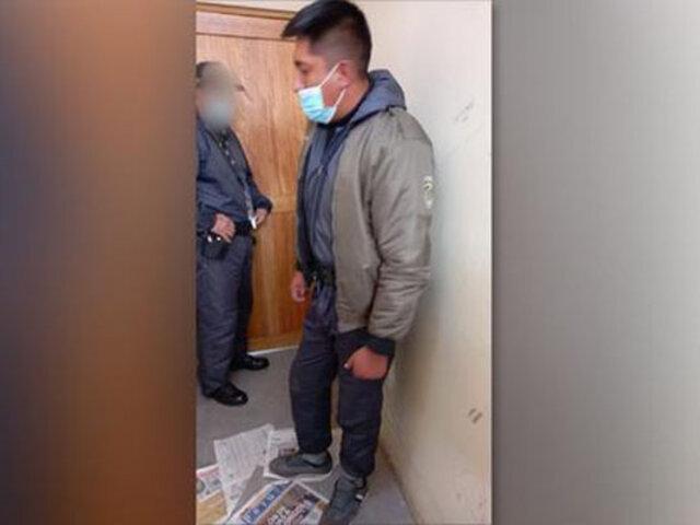 Cusco: intervienen a empleado del Inpe cuando intentaba ingresar celulares a penal