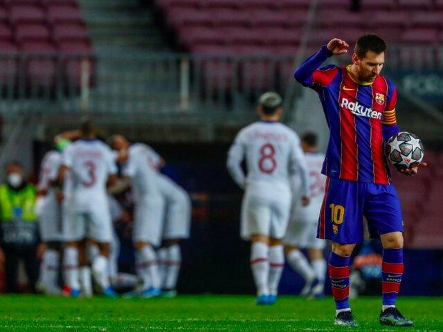 PSG 'aplastó' al Barcelona de Messi por 4 goles a 1 [VIDEO]