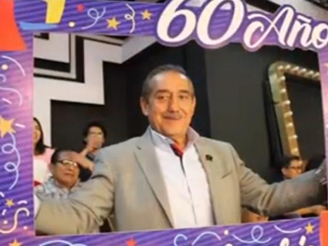 Panamericana Tv lamenta el fallecimiento de Miguel Vargas, jefe de montaje y escenografía