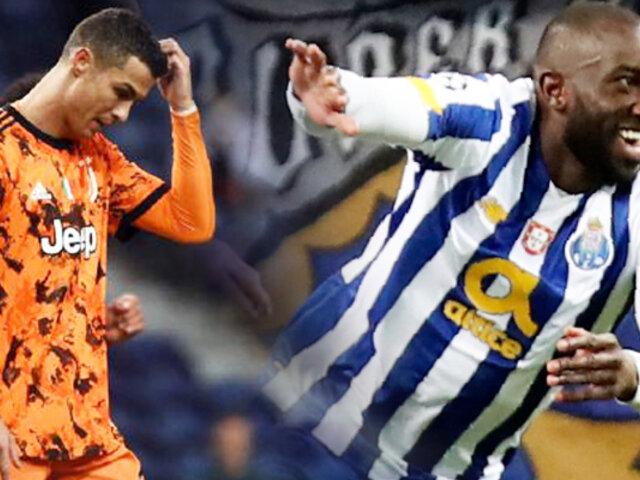 La Juventus con CR7 cayó 2-1 ante Porto en la Champions League