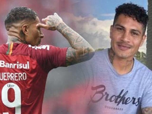 """Paolo Guerrero regresa a las canchas con Inter de Porto Alegre: """"El lunes juego"""""""