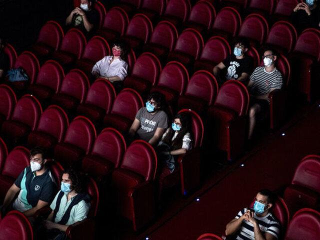 Santiago de Chile: reabren salas de cine tras casi un año de permanecer cerradas por pandemia