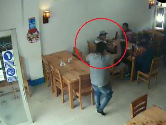 Junín: balean a funcionario que se resistió a robo de más de S/ 100 mil