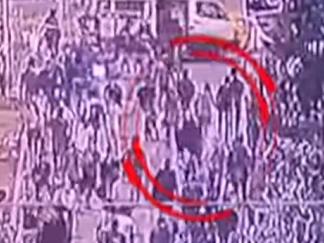 Cámaras de seguridad captaron el asesinato de prestamista en Ate
