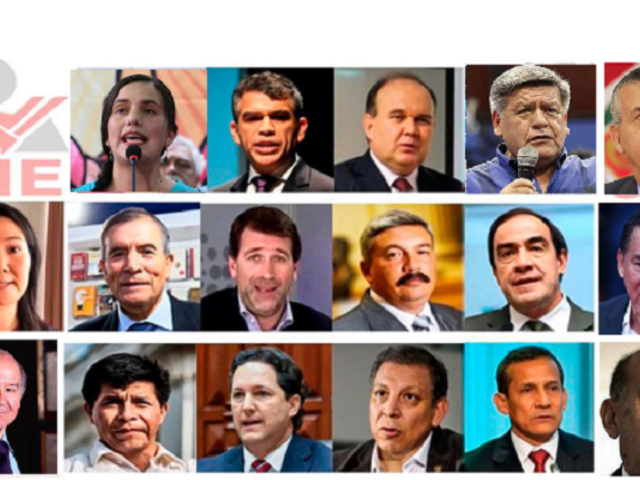 Candidatos presidenciales tienen 153 investigaciones no declaradas ante el JNE