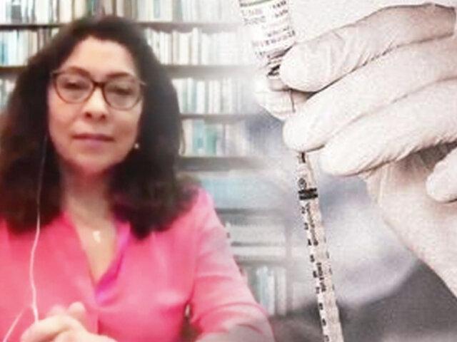 Violeta Bermúdez: Cuando abunden las vacunas podrán ser adquiridas por privados