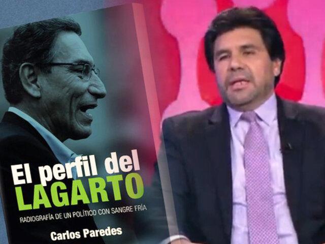 Periodista autor del libro El perfil del Lagarto denuncia que continúan las amenazas