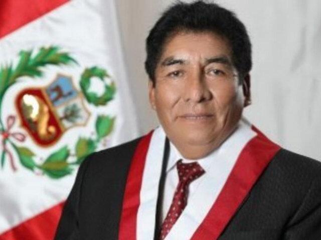 Congreso: oficializan vacancia de Hipólito Chaiña tras fallecimiento por COVID-19