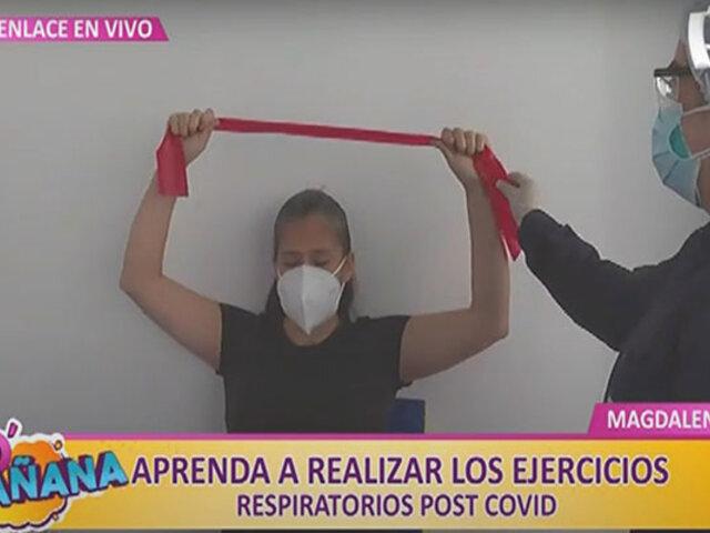 D'Mañana | Rehabilitación post-COVID-19: estos son los ejercicios que se pueden hacer desde casa
