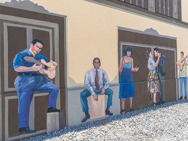 Recuperan 439 metros del Centro Histórico con pinturas murales