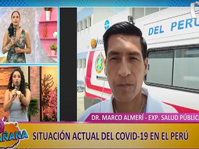 D'Mañana   COVID-19 en el Perú: especialista desmiente algunos mitos caseros sobre el virus