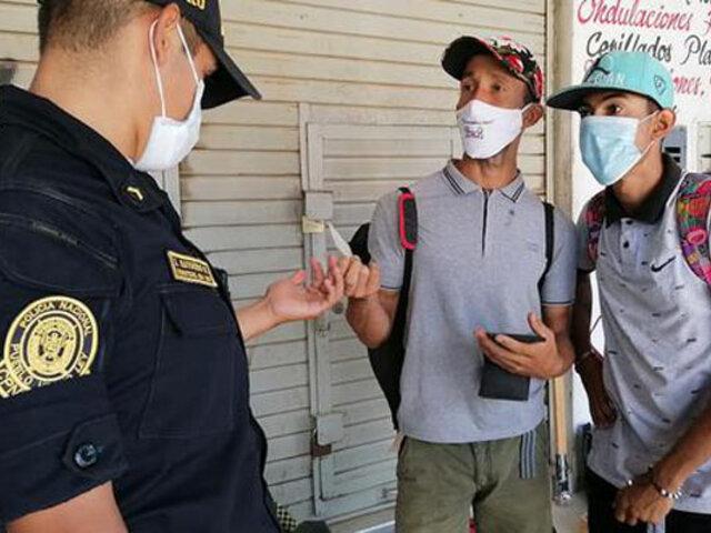 Piura: más de 25 extranjeros fueron intervenidos en las últimas horas por falta de documentos