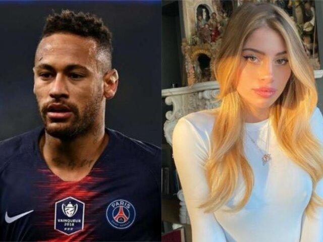 Neymar causa polémica por tratar de conquistar a la novia de otro jugador