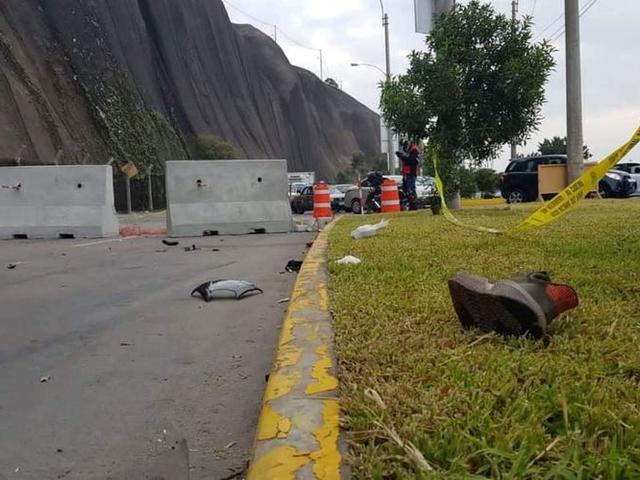 Magdalena: Mujer fallece y conductor queda herido tras accidente de moto