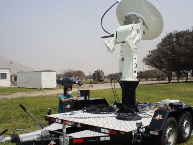 IGP: Radar de alta tecnología permitirá monitorear lluvias y prevenir huaicos