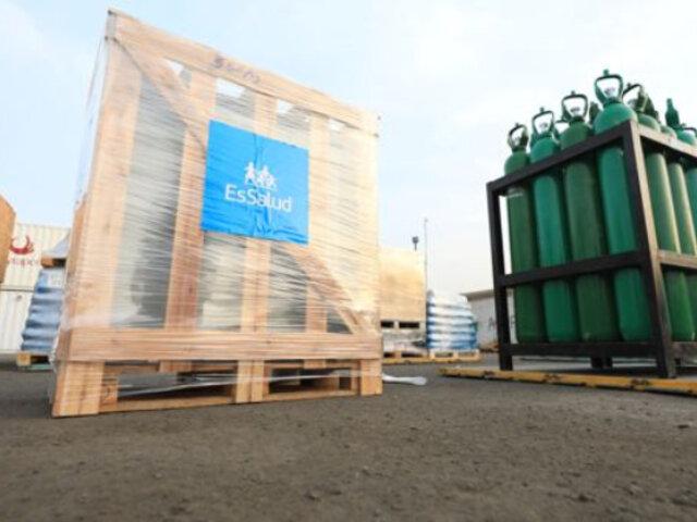Iquitos: envían nueva planta generadora de oxígeno para atender a pacientes COVID-19