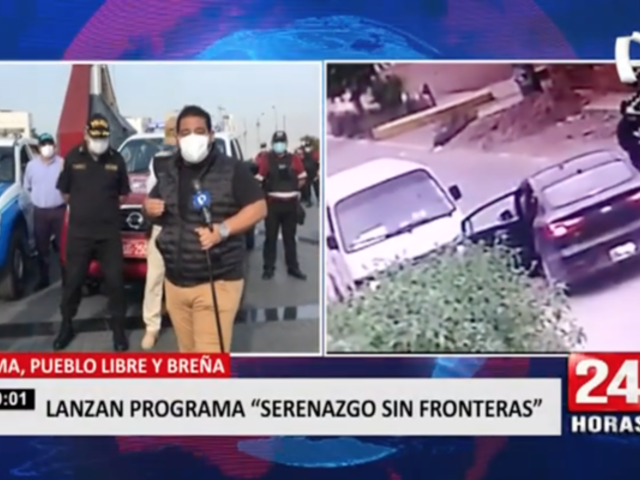 """Lima, Pueblo Libre y Breña se unieron al programa """"Serenazgo Sin Fronteras"""""""