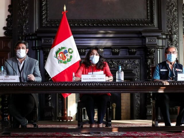 COVID-19: Gobierno informará hoy nuevas medidas frente a la pandemia