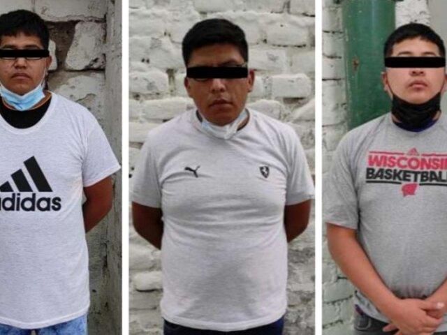 """Arequipa: desarticulan banda delincuencial """"Las Hienas del transporte"""""""