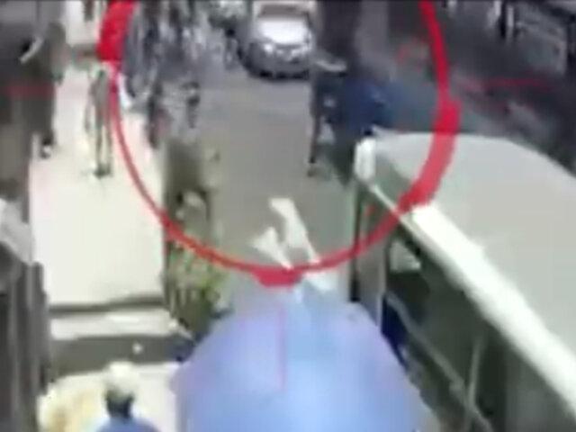 SJM: capturan a ladrones que asaltaban a pasajeros de buses de transporte público