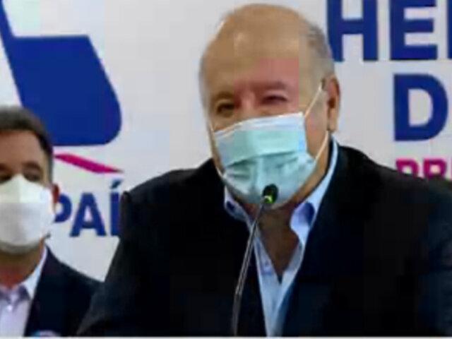 Hernando de Soto presentó su 'Gabinete de oposición'