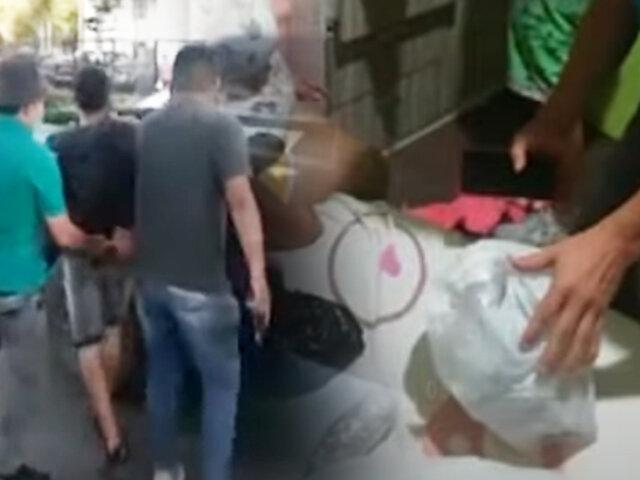 Grupo Terna captura a vendedora de droga y su banda en Surco