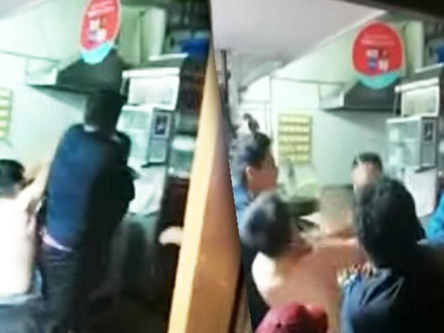 Sujeto casi mata a integrantes de una familia en el Cercado de Lima