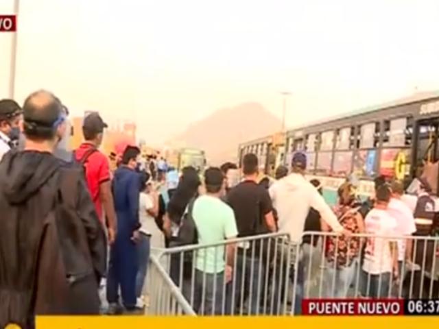 Puente Nuevo: usuarios se pronuncian por levantamiento de cuarentena