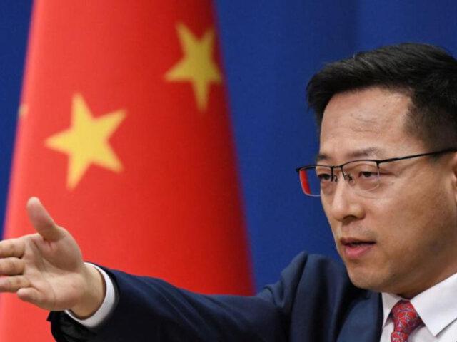 China: descartan haber realizado pruebas anales de covid-19 a diplomáticos de EEUU