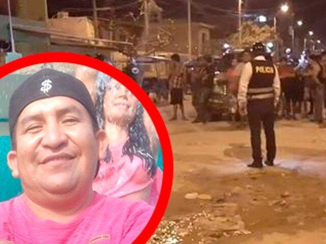 Empresario es asesinado cerca a su vivienda en Paita