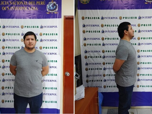 Interpol Lima captura a sujeto sentenciado por pornografía infantil