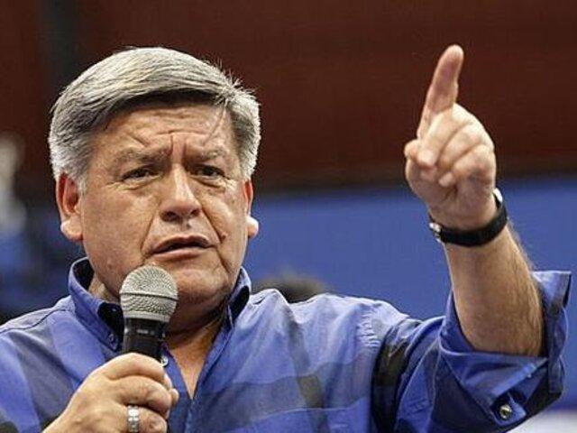 César Acuña pidió marcar el símbolo de otro partido en lugar de Alianza Para el Progreso