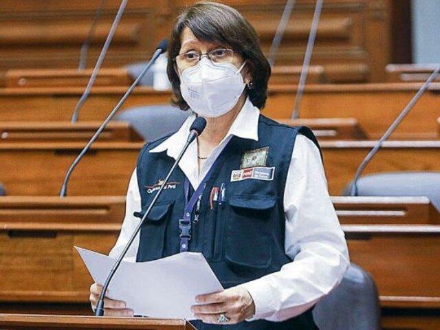 VacunaGate: Pilar Mazzetti recibió la vacuna de Sinopharm en su domicilio junto a asesores