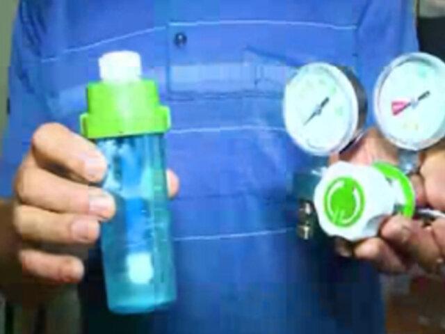 SJL: delincuentes robaron manómetros y vasos humidificadores tras entrar a parroquia