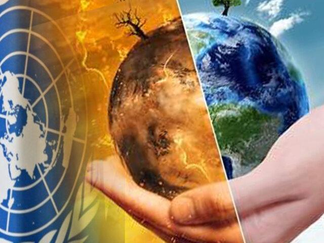 """ONU pide nueva """"era de acción"""" para salvar el planeta"""