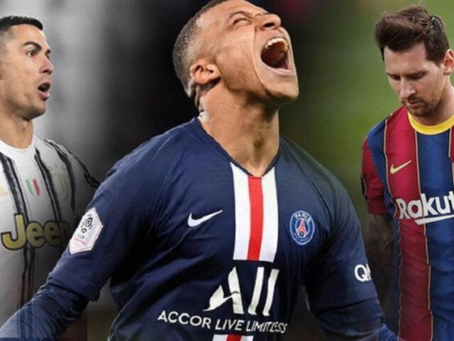Mbappé rompe récord tras doblete en partido del PSG contra Bayern Munich