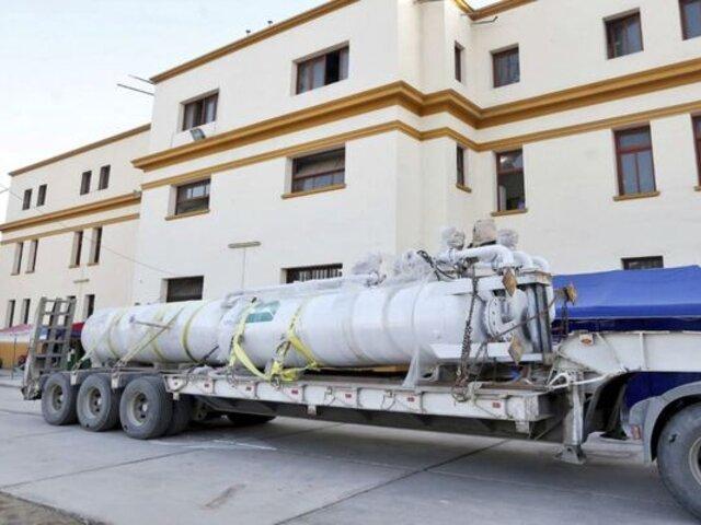 Hospital Loayza: implementan nueva planta de oxígeno donada por Minera Buenaventura