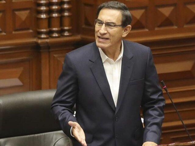 Defensa legal de Martín Vizcarra pide retrotraer denuncias y respetar el debido proceso