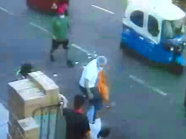 Magdalena: sujeto agrede a ladrón tras intentar robarle su bicicleta