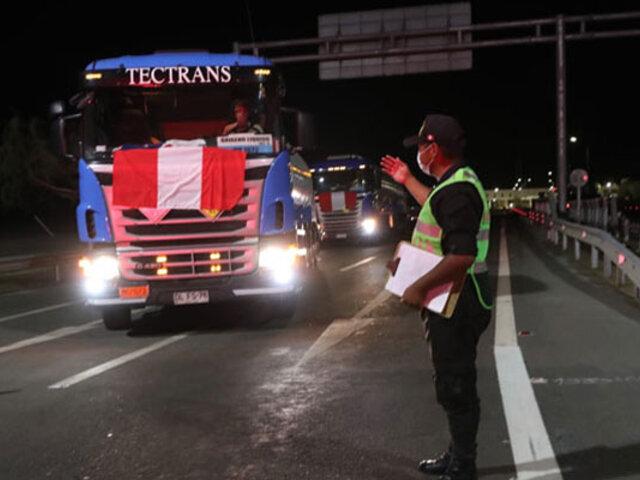 Minsa: oxígeno medicinal importado de Chile será distribuido a seis hospitales de Lima