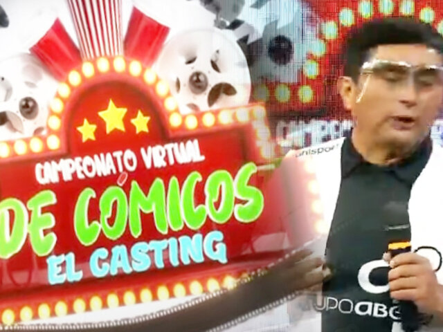 Continúa el casting del primer campeonato virtual de cómicos