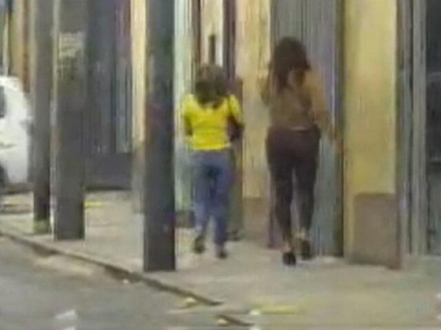 Cercado de Lima: en amplio operativo desarticulan la  banda 'Las Muñecas de la Mafia'