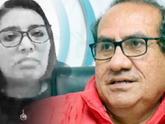 """Óscar Vásquez sobre declaraciones de Karem Roca: """"Ella está mintiendo una y otra vez"""""""