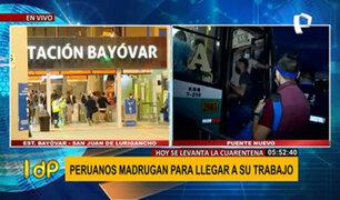 Metro de Lima: desde hoy se levantan restricciones del transporte público